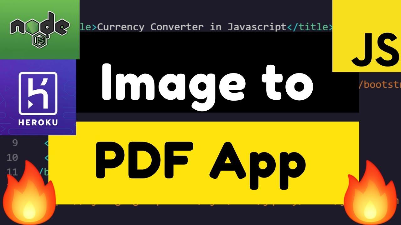 Convert PNG JPG Images to Single PDF File Using ImageMagick