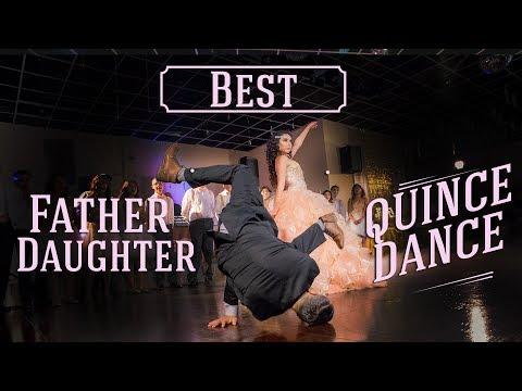 JEZEL'S  BEST QUINCE FATHER DAUGHTER DANCE SURPRISE 2017