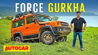 2021 Force Gurkha review – Brilliant off-road, more civilized on it | First Drive | Autocar India