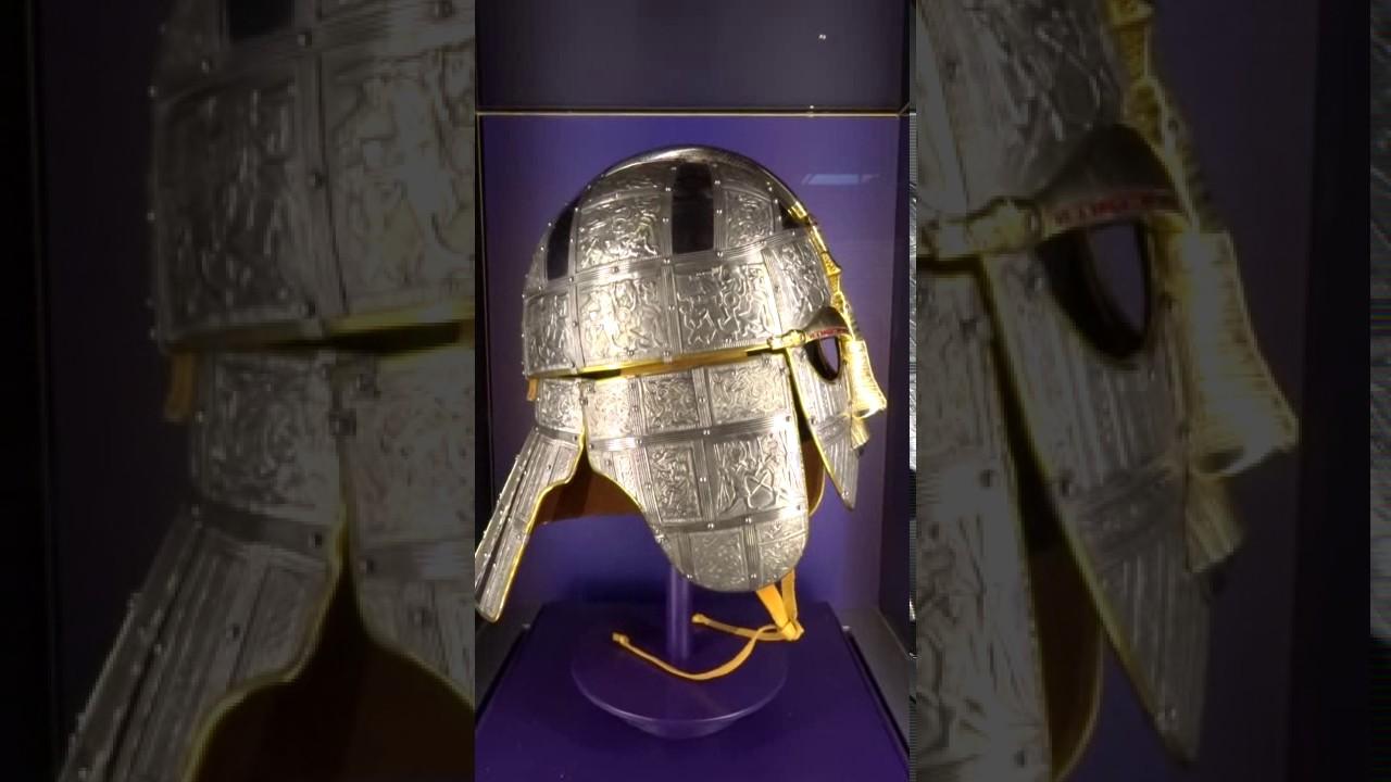 The Sutton Hoo helmet - YouTube