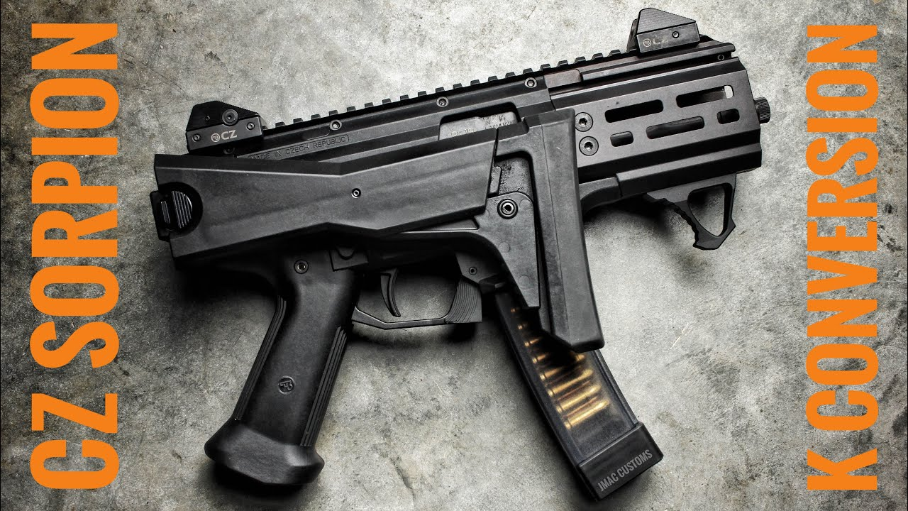 CZ Scorpion With HB Industries K Conversion