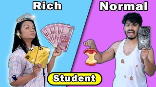 Rich Vs Normal Students At School  | Hungry Birds