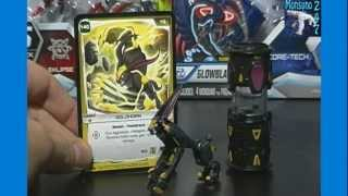 Goldhorn #46 Monsuno Toy Figure 1-pack Wave #4 Opening / Unboxing