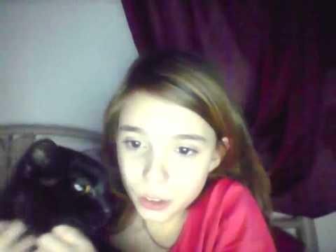 video ou je vous presente ma chatte