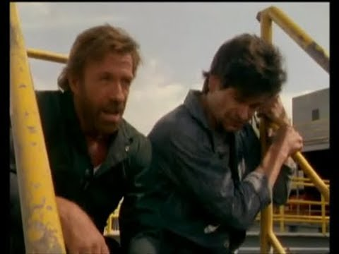Don Swayze with Chuck Norris 1995