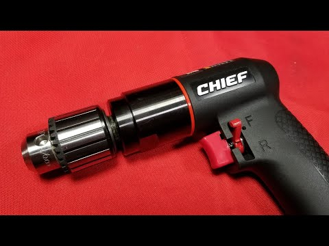"""Harbor Freight Chief ⅜"""" Professional Air Drill Review"""