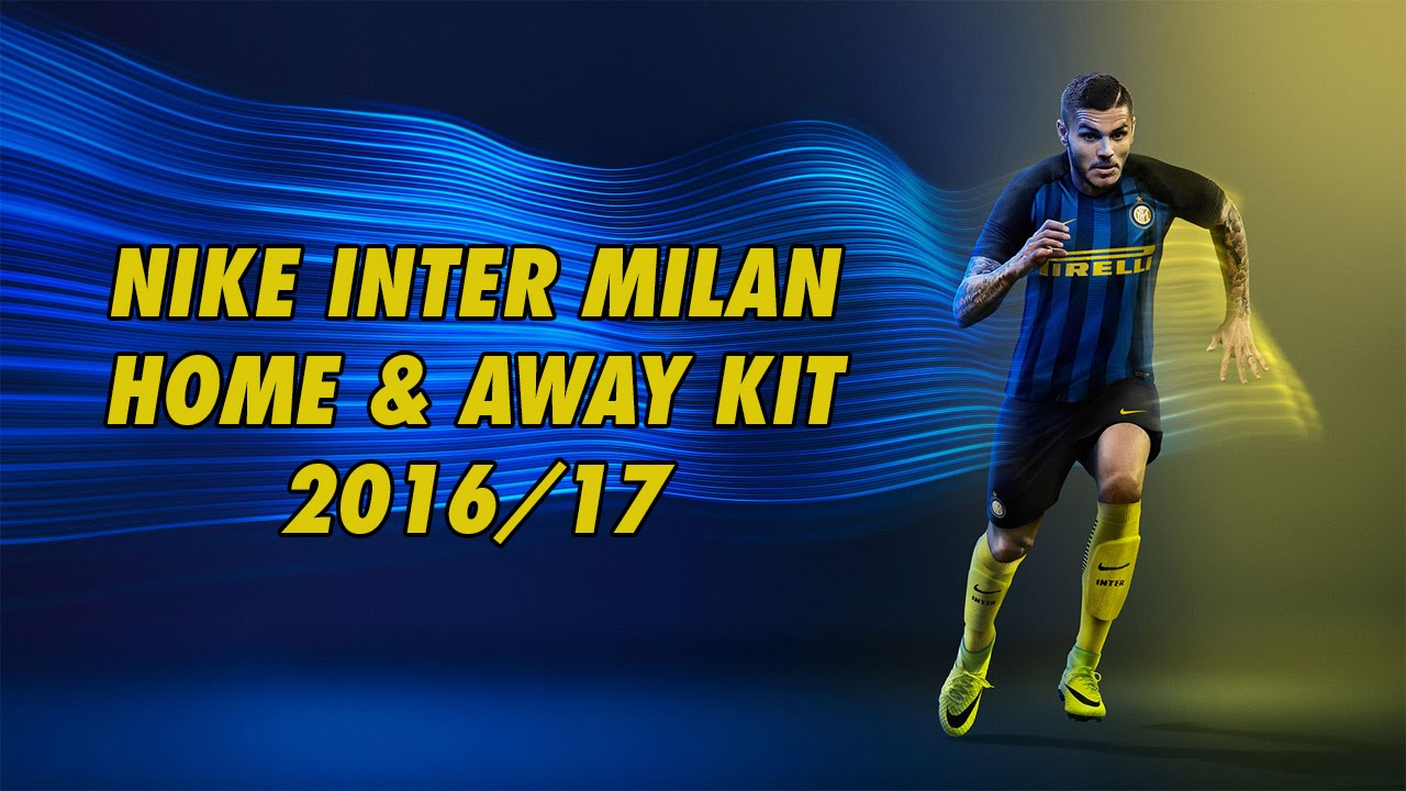 the best attitude d59b9 40395 Official Inter Milan Home & Away Kit 2016/2017