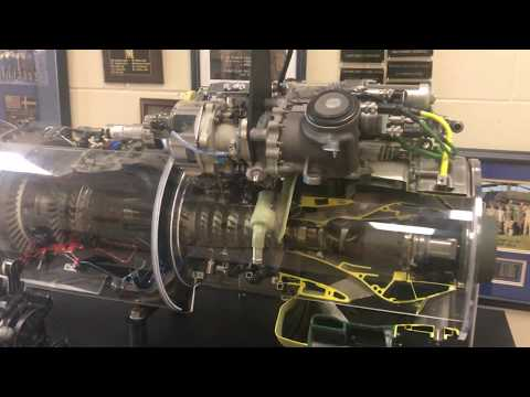 How a Gas Turbine engine works Black Hawk helicopter GE T-700 series