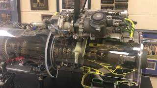 How a Gas Turbine engine works Black Hawk helicopter GE T-700 series -  YouTube   Ge T701c Turbine Engine Operating Diagram      YouTube