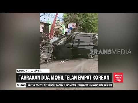 Tabrakan 2 Mobil Telan 4 Korban | REDAKSI PAGI (04/10/20)