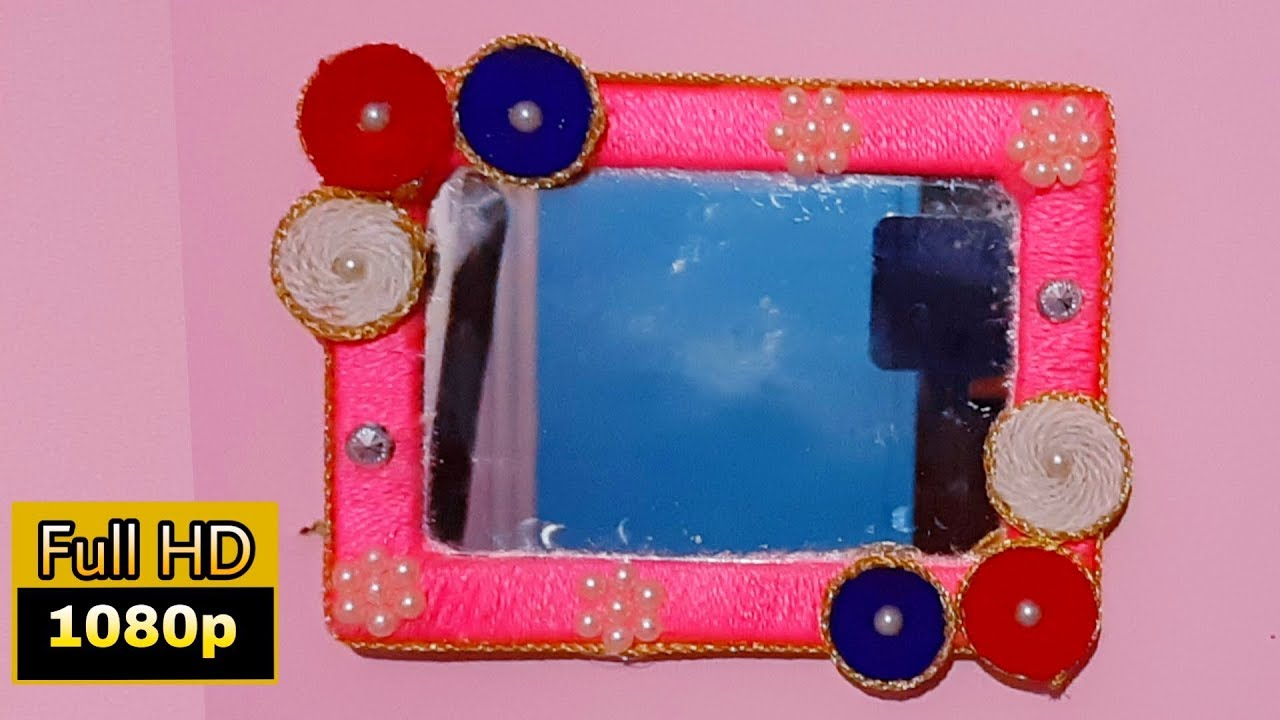 Mirror Decoration Ideas Handmade Mirror Decoration Ideas Diy