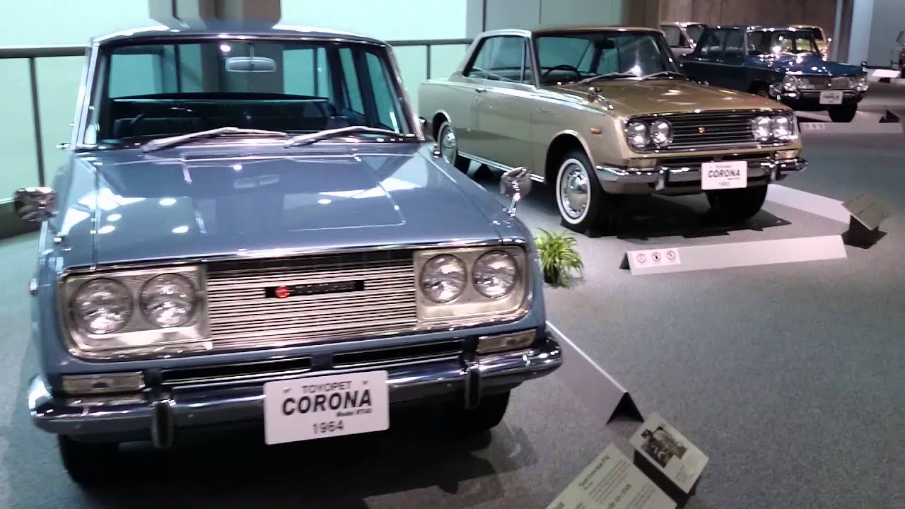 A Few Japanese Sedans Of The Toyota Automobile Museum Youtube