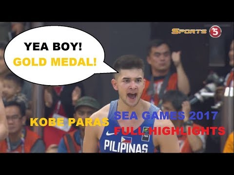 KOBE PARAS SEA GAMES 2017 FULL HIGHLIGHTS | GOLD MEDALIST | All About Basketball |