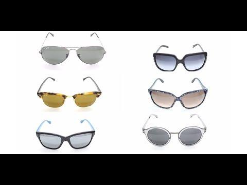 Какие солнцезащитные очки подходят для овального лица