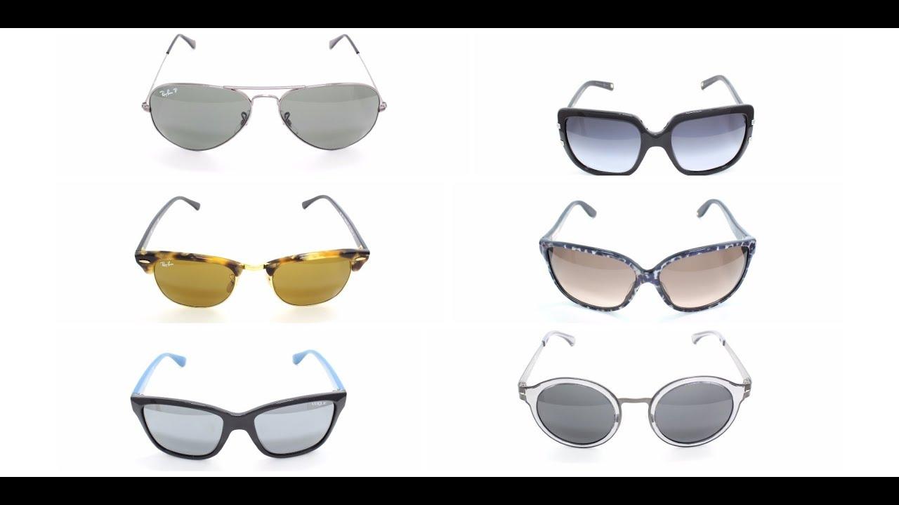 Очки солнцезащитные мужские для квадратного лица