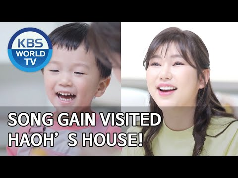 Song Gain visited Haoh's house! [The Return of Superman/2020.05.17]