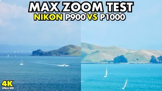 Nikon P900 vs P1000: Max Zoom Test - The Island