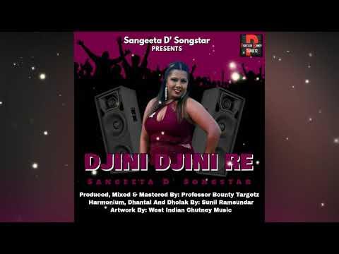 Sangeeta D'Songstar  Djini Djini Re Chadariya Traditional Chutney 2k19