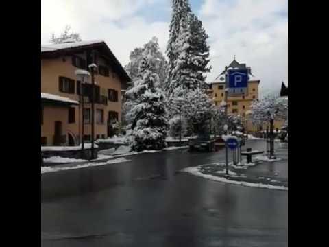 klosters Dorf Plata Swiss Alps