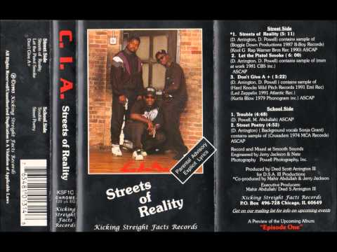 C.I.A. - Street Poetry