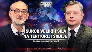 AKTUELNO: Sukob velikih sila na teritoriji Srbije - Tomislav Kresović i Ivan Pajović (23.12.2019)
