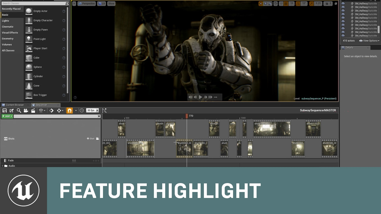 Unreal Engine 4: Welcome to Sequencer