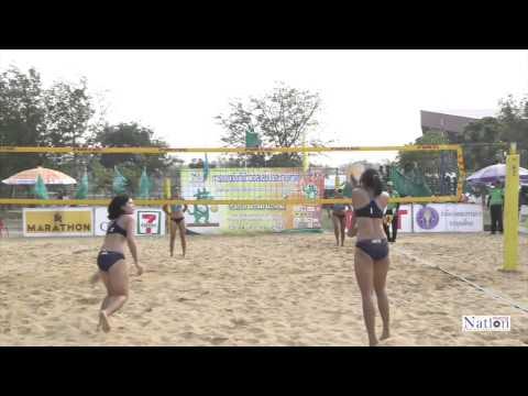 การแข่งขัน วอลเลย์บอลชายหาด ประเภททีมหญิงรอบชิง