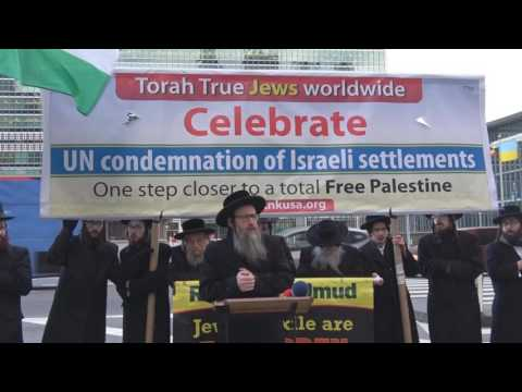Rabbis hold press conference in support of UN resolution on Israeli settlements