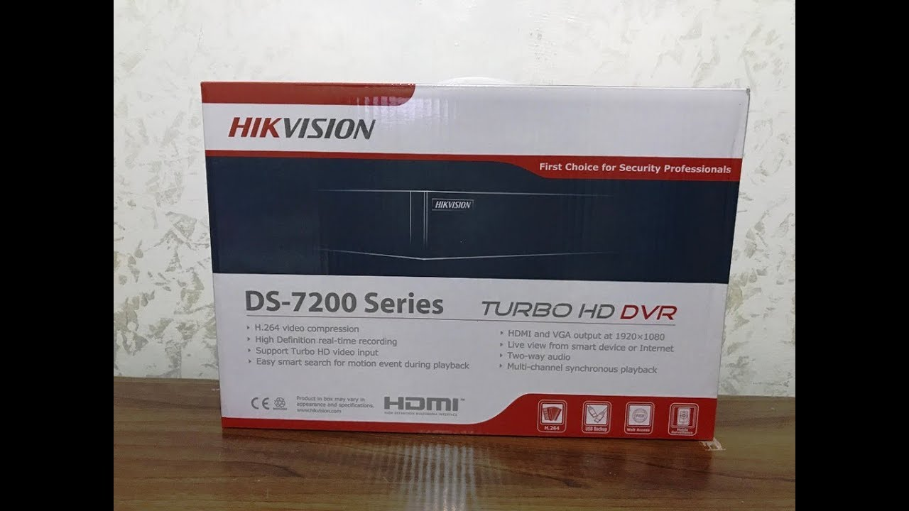 Hikvision Turbo Hd Digital Video Recorder Ds