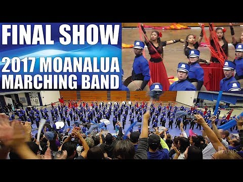 "FANTASIA ESPAÑOLA | 2017 Moanalua HS ""Menehune"" Marching Band & Color Guard 