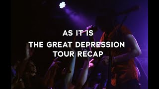 As It Is-The Great Depression Tour Recap