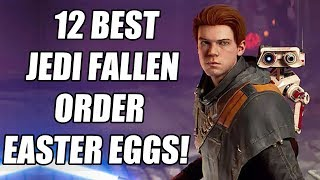 12 Star Wars: Jedi Fallen Order Secrets, References And Easter Eggs You May Have Missed