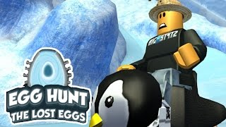 WE FOUND A BABY PENGUIN!! | Roblox Egg Hunt 2017 [3]