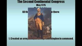 Second Continental Congress and Common Sense