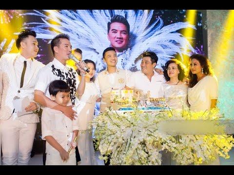 Sinh nhật Mr Đàm hoành tráng như tiệc cưới [Tin mới Người Nổi Tiếng]