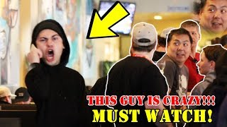 ANSWERING PHONE LOUDLY IN PUBLIC PRANK Part 3