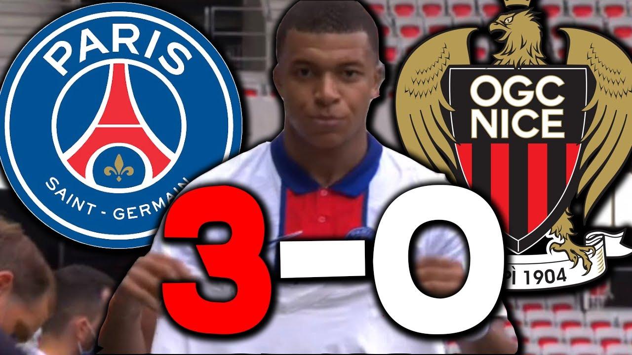 Mbappé et Di Maria Incroyable ! Gueye blessé ! Nice 0 - 3 PSG