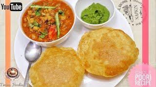 Poori Chole Recipe 😍 // Punjabi Style Channa Puri J👍 // BY PREETI SEHDEV