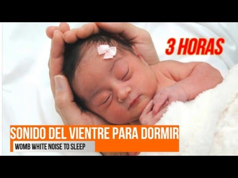 "White Noise for babies ""womb sound"" 