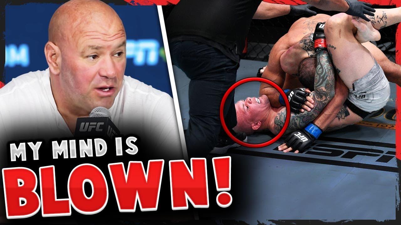 Reactions to the QUICK FINISH by Anthony Smith, Dana White reacts to Mike Tyson vs Roy Jones Jr