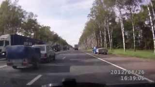 Разводилы на московском шоссе