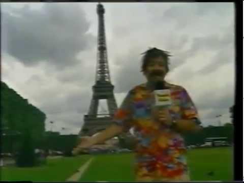 Andrés Bustamante en Francia 98 - Ponchito recorre París ...