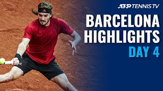 Nadal battles Nishikori; Tsitsipas, Rublev & Sinner in Action | Barcelona Open 2021 Highlights Day 4