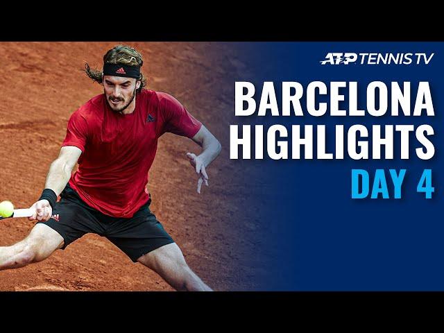 Nadal battles Nishikori; Tsitsipas, Rublev & Sinner In Action | Barcelona Open 2021 Highlights Day 4