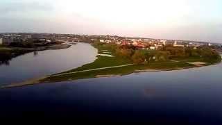 Kaunas,Santaka video is auksciau(Kaip atrodo santaka is automobiliu stovejimo aiksteles kitoje upes puseje., 2014-04-20T18:10:47.000Z)