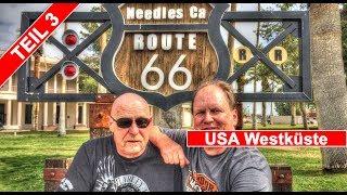 Teil 3 - USA Tchibo Westküsten Tour auf der Harley Davidson Tour Story Needles - Oatman City