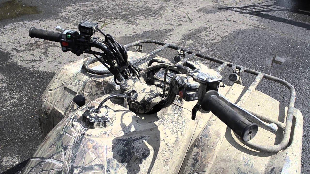 2011 Yamaha Kodiak dies on acceleration