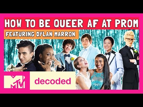 How To Be Queer AF at Prom ft. Dylan Marron | Decoded | MTV