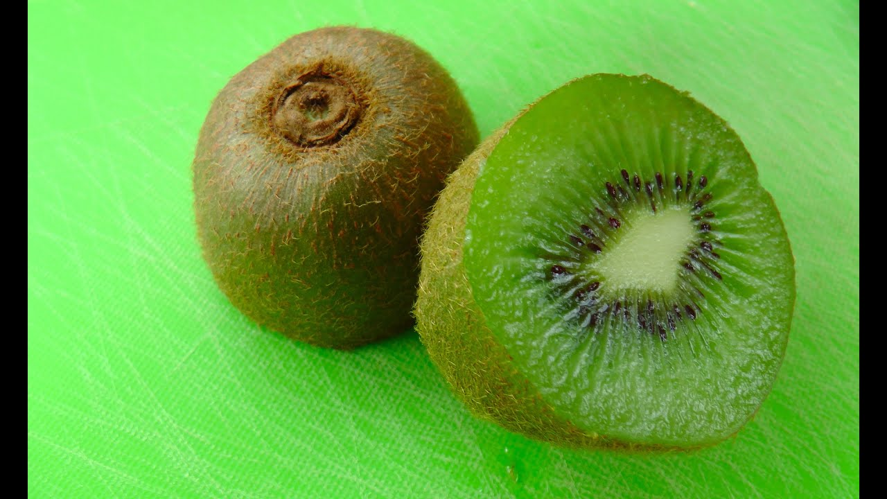 how to eat a kiwi fruit