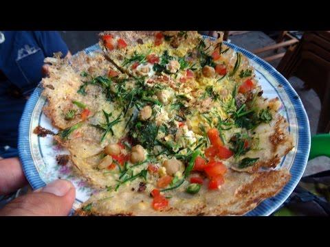 สุดยอดพิซซ่าพม่า burmese street food in MANDALAY